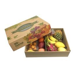 Paper Fruit Gift Box