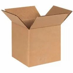 Cardboard Square Plain Corrugated Box, for Packers and Movers, Packaging, Ply: 3