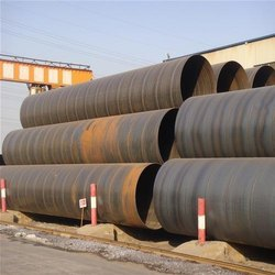 Jindal Spiral Welded Mild Steel Round Pipe, Size: 12 to 120 inch
