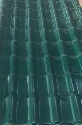 Kelon  UPVC Spanish Model Tile Green Colour Roofing Sheets