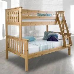 Wooden Kids Bunk Bed