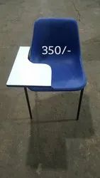 Plastic Writing Pad Chair
