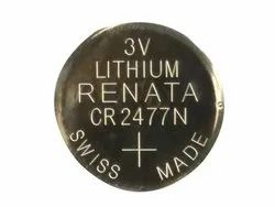 Renata CR 2477  Lithium Coin Cell Battery