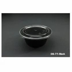 DB-77- Black Plastic Container