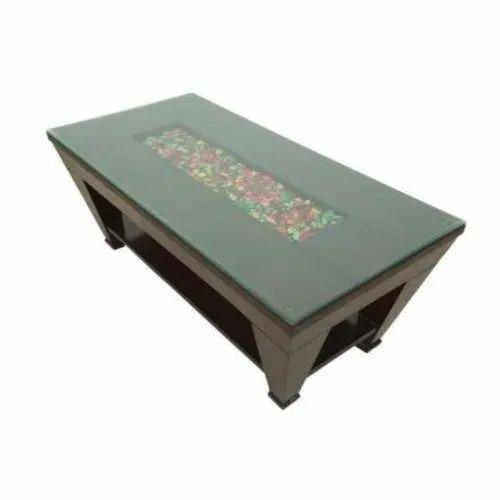 decorative wooden centre table