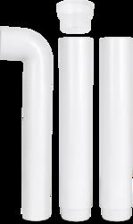 Plastic White Long Band for Flushing Cistern, For Cistern Pipe