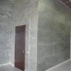 Direct On Plastered Wall Multy Natural Stone Cladding Light Weight & Reinforced, Thickness: 4 Mm