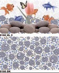 Ceramic Tiles Gloss Bathroom Tiles, Thickness: 5-10 Mm