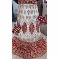 Free Size Wedding Wear Ladies Embroidered Lehenga Choli