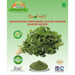 Geofresh Organic Fenugreek Leaves Powder / Kasuri Methi, Packaging Size: 1 Kg, Packaging: Silver Bag
