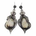 Sapphire Diamond Earring