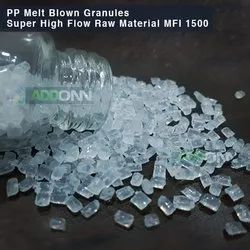 PP Granules Melt Blown Fabric Grade MFI 1500 with Electrostatic Effect