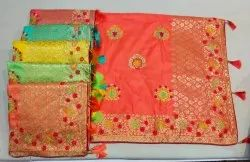Fancy Silk Saree Party Wear