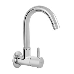 Stainless Steel Silver Parryware Taps