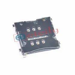 6 Pin Type Micro Sim Card Holder Push