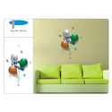 Balloons Wall Graphics, For Hotel, Home