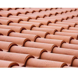 Color Coated Clay Roof Tile