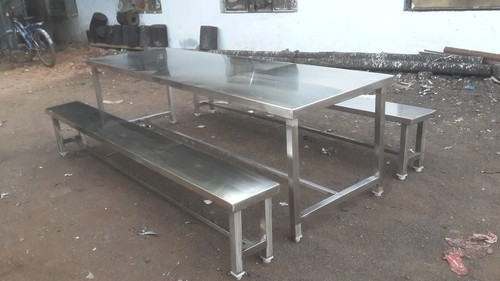 ae27c79aa6 Stainless Steel Furniture - Bag Storage Tubular Rack Manufacturer from  Chennai