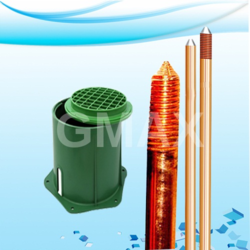 Copper Bonded Rod with Pit Cover