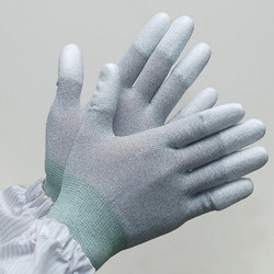 ESD Gloves PU Coated Top/Fit Finger