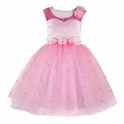 Pearl Embellished Tutu Girls Party Dress
