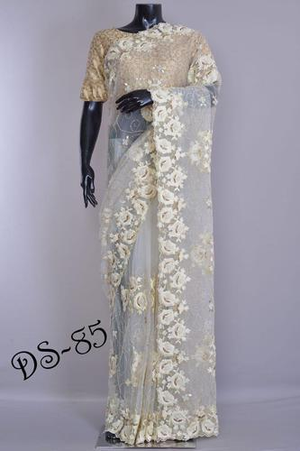 4e46b6d341 Nylon Mono Net Saree With Blouse Piece, Length: 6.3 M, Rs 999 /piece ...