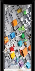 Digital 3d Door Print