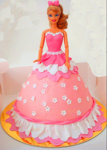 Barbie Doll Fondant Cake At Rs 1600 Piece क र म क क