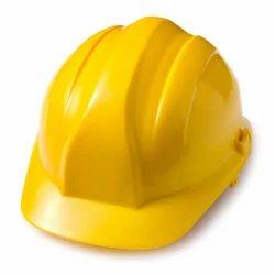 Mallcom Yellow Polyethylene Safety Helmet