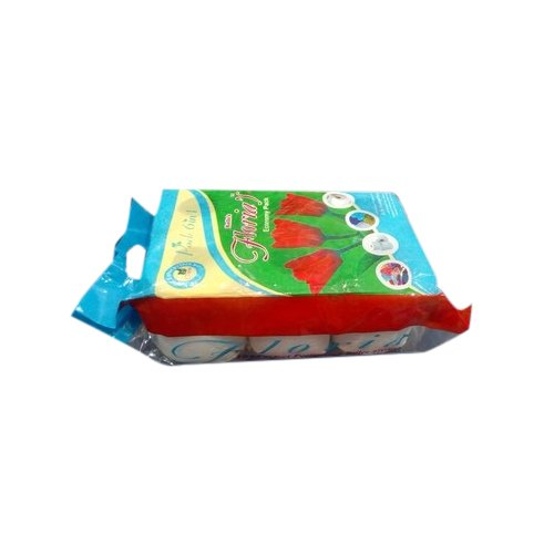 White Paper Floria Toilet Roll, Packaging Type: Packet