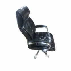 Black Leather BOSS CHAIR
