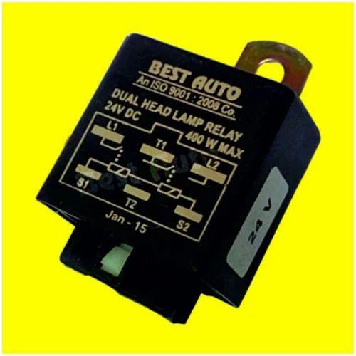 Headlamp Relay  24 Volt    911125  Head Lamp