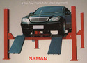 Naman Electro Hydraulic Four Post Lift