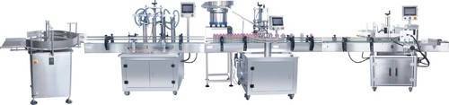 Semi-Automatic Black Automatic Filling Capping Sealing Machine, 1-2 HP