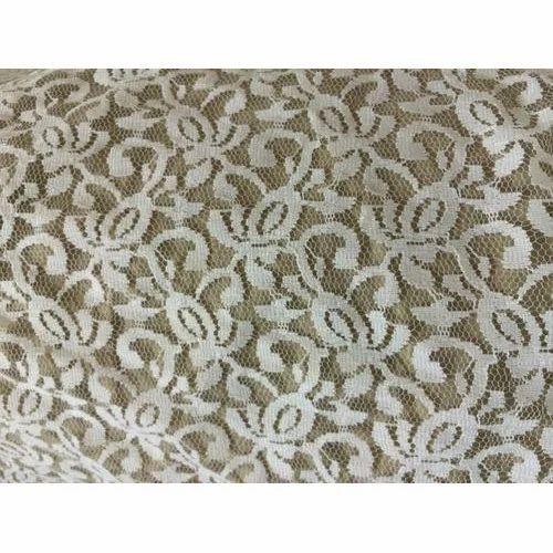 31a481ec95c9 White Rachel Lace Fabric, Rs 50 /onwards, Rawalwasia Yarn Dyeing ...