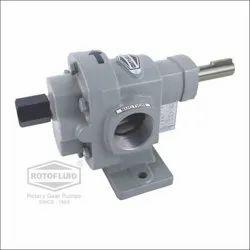 ROTOFLUID 100 Meter Cast Iron Gear Pump, AC Powered, 500 Lpm