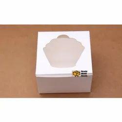 5x5x3.5 Inches White Window Box