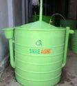 SNRE Agni(TM) KVIC Floating Dome 1 m3 Portable Biogas Plant