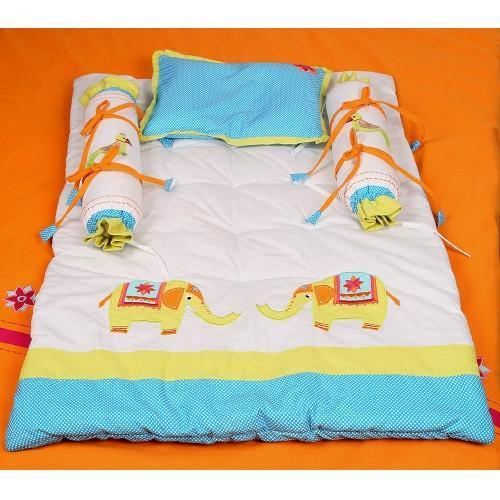 Printed Multi Color Baby Bedding Set