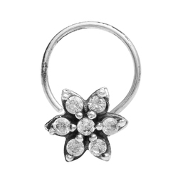 SHNP-208 925 Sterling Silver Nose Pin