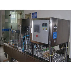 Automatic Water Glass Filling Machine