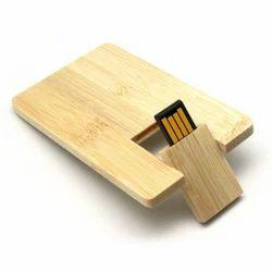 Wooden Card USB Pen Drive