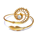Handmade Gold Plated Brass Exclusive Bangle