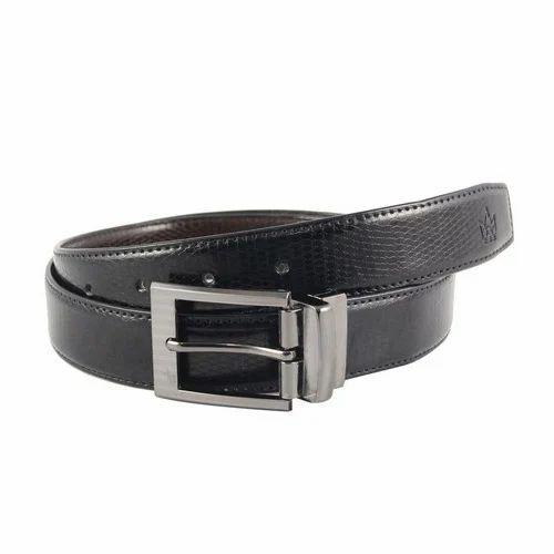 ebe74dbf25d Tom Venice Black Reversible PU Leather Belt