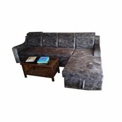 L Shape Corner Sofa Set, Back Style: Tight Back
