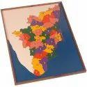 Wooden Map Puzzle Tamilnadu