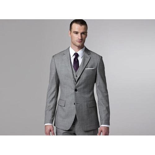Grey PV Wool Classic Mens Wedding Suit, Rs 4000 /piece, Avika ...