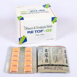 Ofloxacin 200mg  and Ornidazole 500mg Tablets