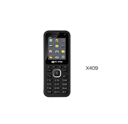 Black Micromax X409 Mobile