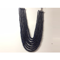 Blue Color Crystal Beads Necklace
